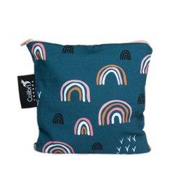 Colibri Reusable Snack Bag Large, Rainbow