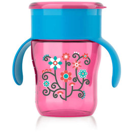 Philips AVENT My First Big Kid Cup 9oz, Girl