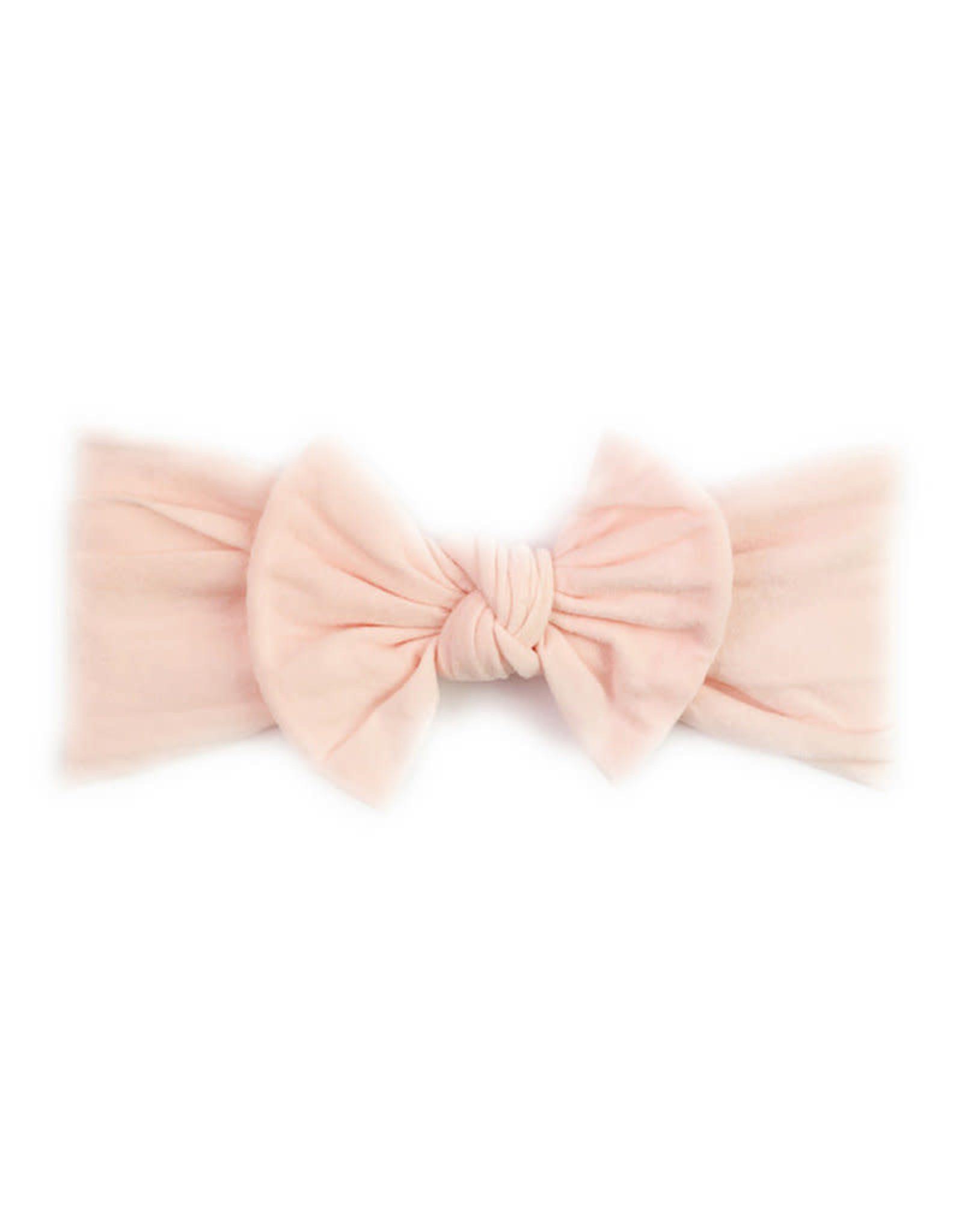 Baby Wisp Baby Wisp Bow Headband, Ballet Pink