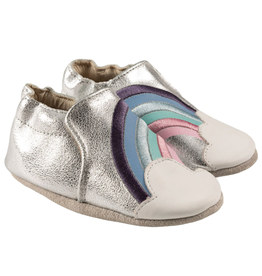 Robeez Robeez Soft Soles, Hope - Silver