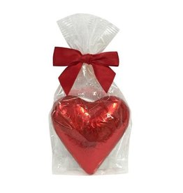 anDea Chocolates Milk Chocolate Red Foil Heart
