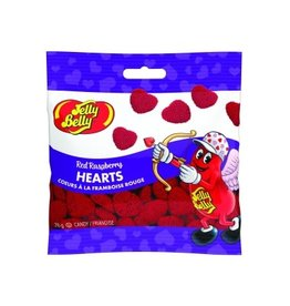 anDea Chocolates Jelly Belly Red Raspberry Hearts