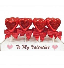 anDea Chocolates Milk Chocolate To My Valentine Suckers