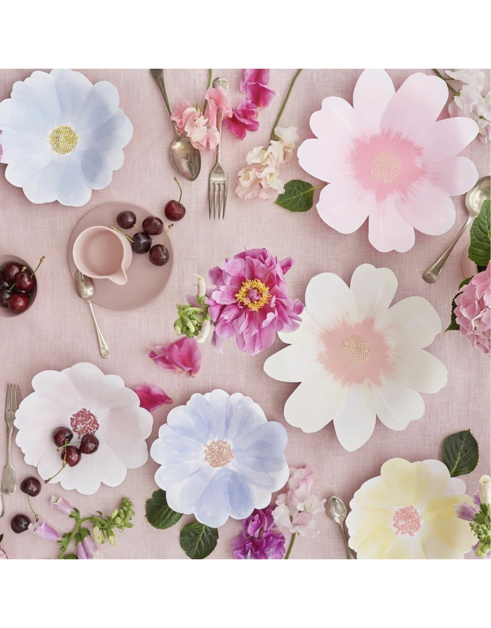 Meri Meri Flower Garden Large Plates