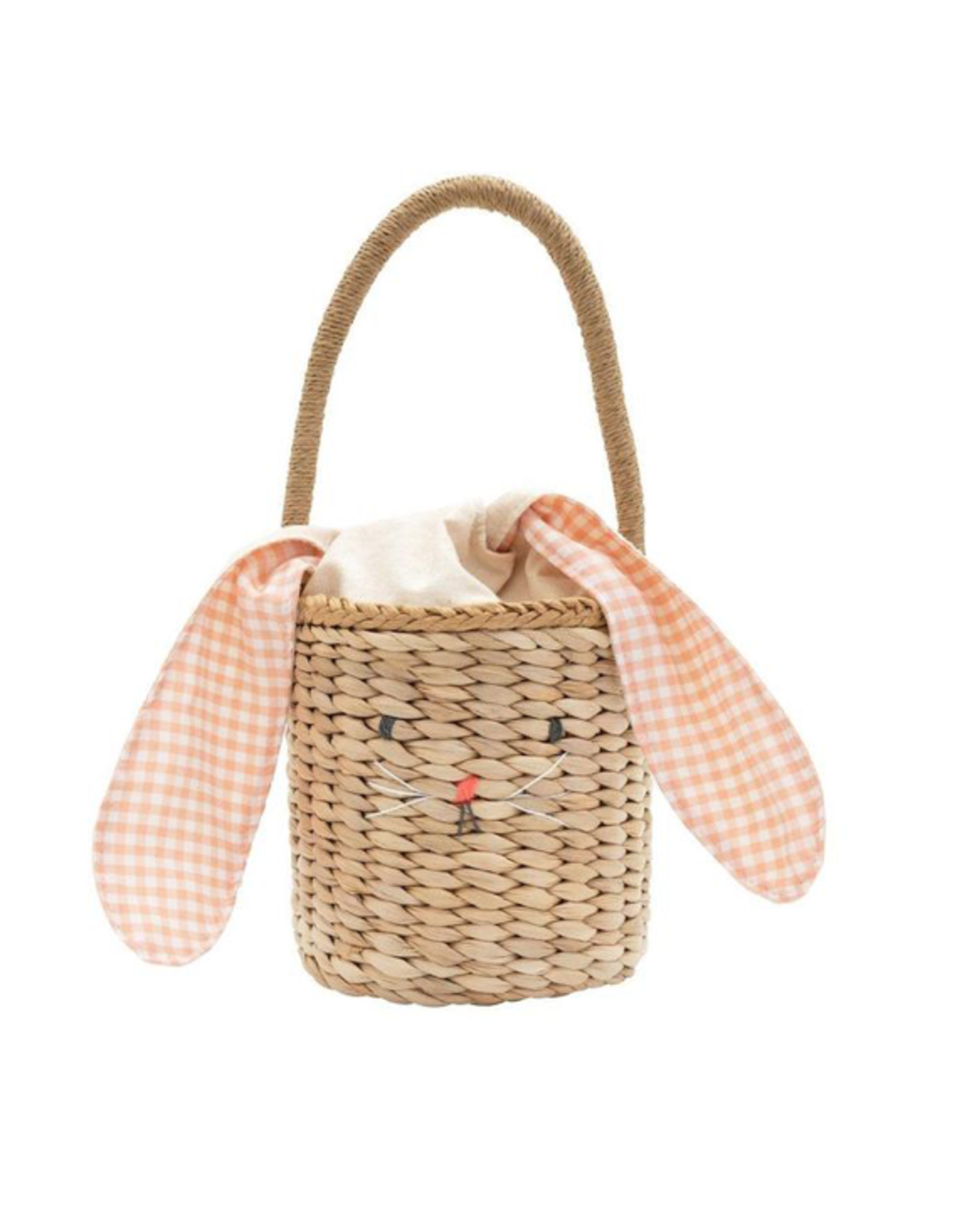 Meri Meri Bunny Woven Straw Bag