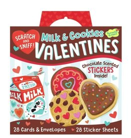 Peaceable Kingdom Milk and Coolies Super Valentine Cards