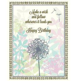 Yellow Bird Paper Greetings Wish Leads Birthday Card