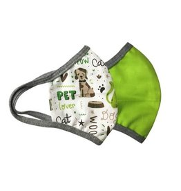 Great Pretenders Pet Lover & Green Mask Set, 2 pcs.