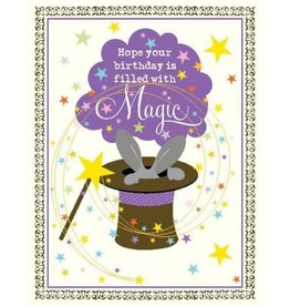 Yellow Bird Paper Greetings With Magic Birthday Card