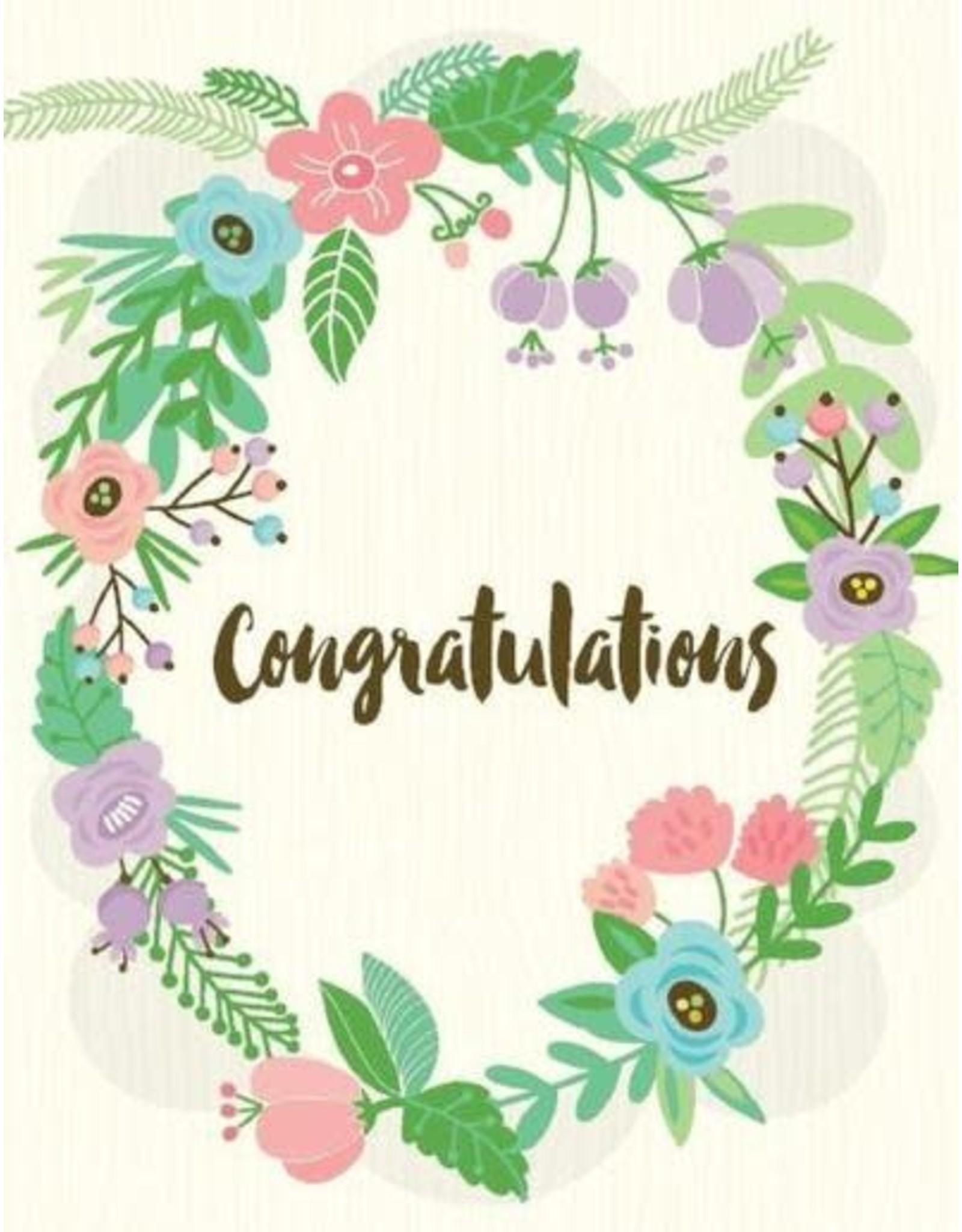 Yellow Bird Paper Greetings Congratulations Card