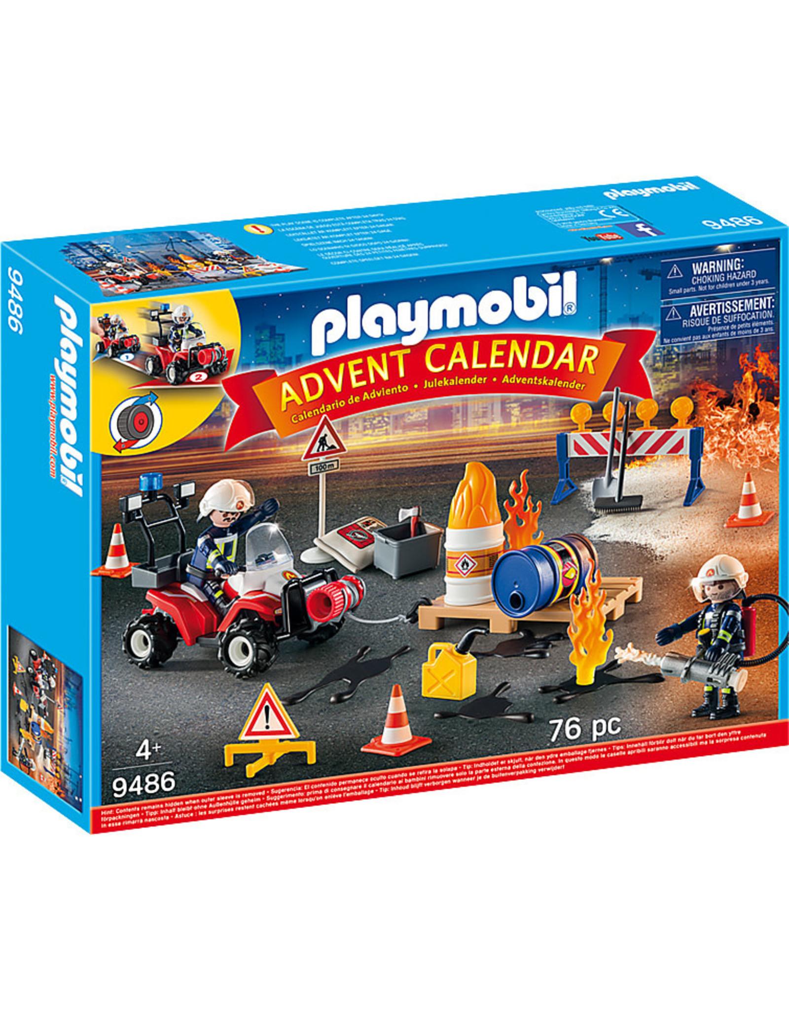 Playmobil Advent Calendar Fire Brigades or Police