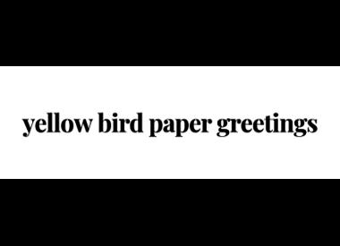 Yellow Bird Paper Greetings
