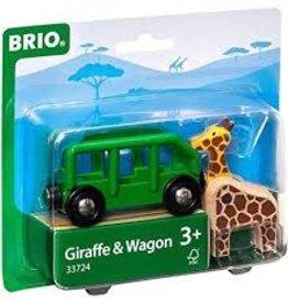 Brio Safari Wagon & Animal