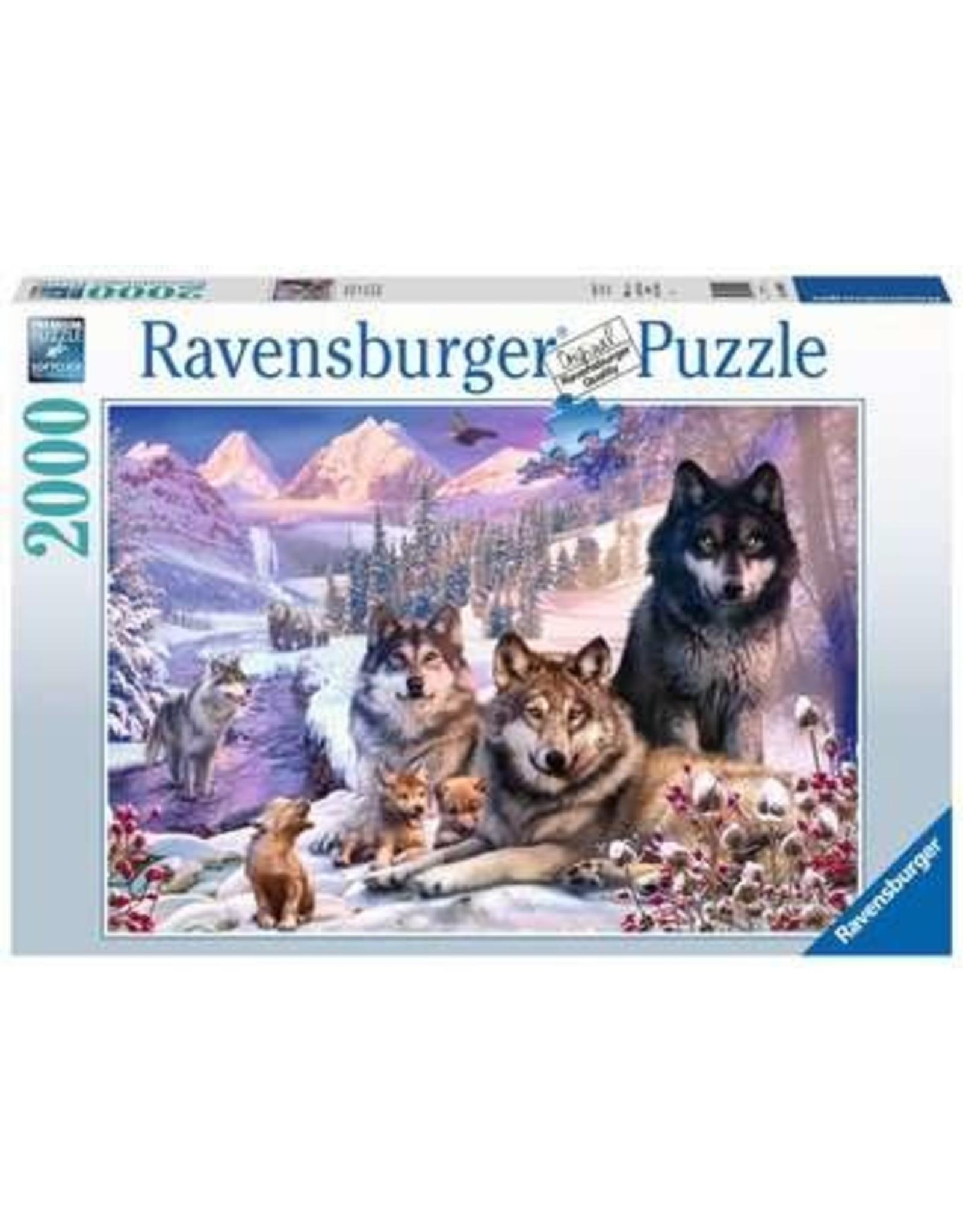 Ravensburger 2000 pcs. Winter Wolves Puzzle
