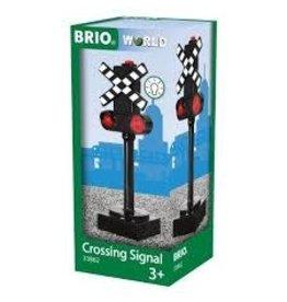 Brio Crossing Sign