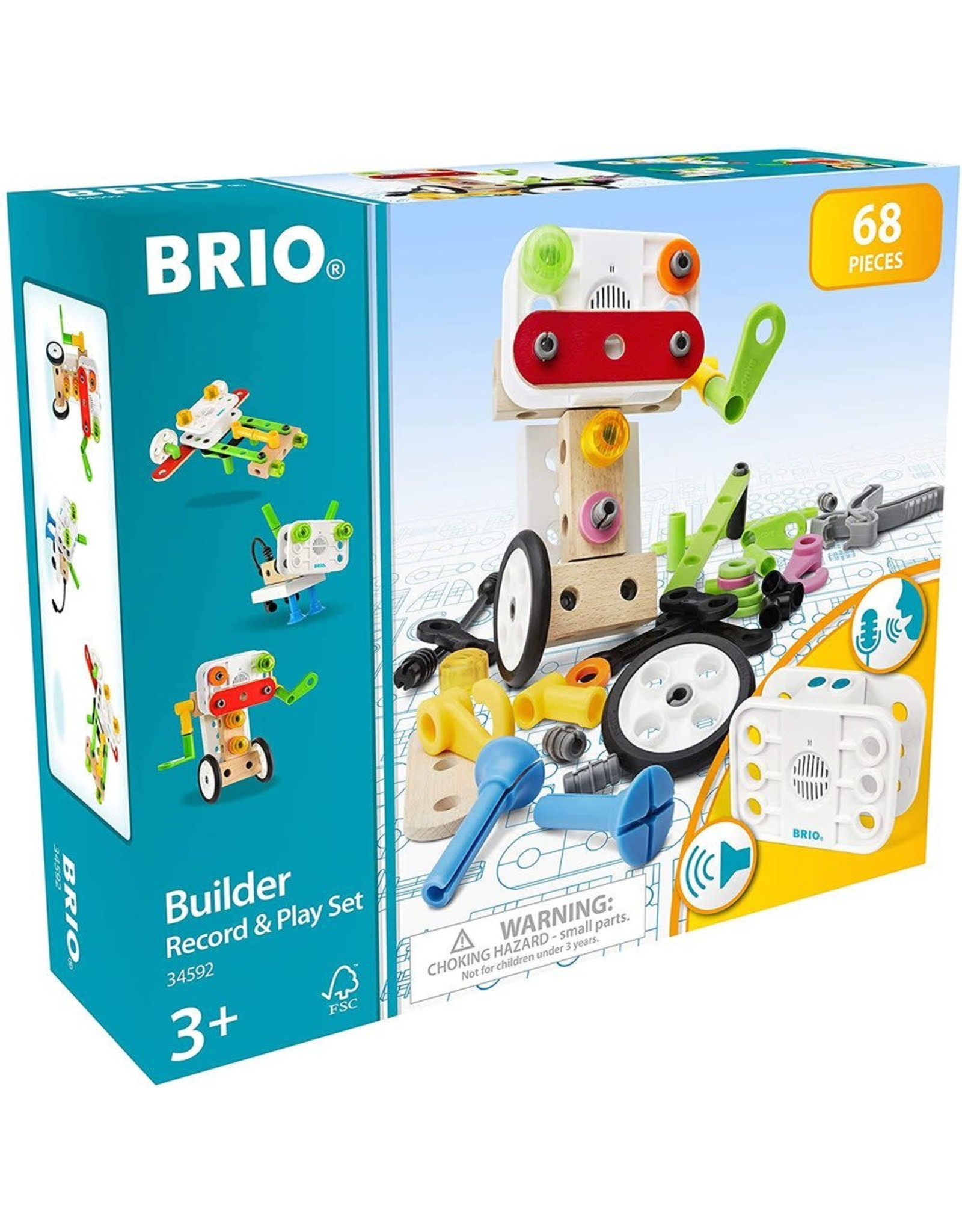 Brio Builder Record & Play Set