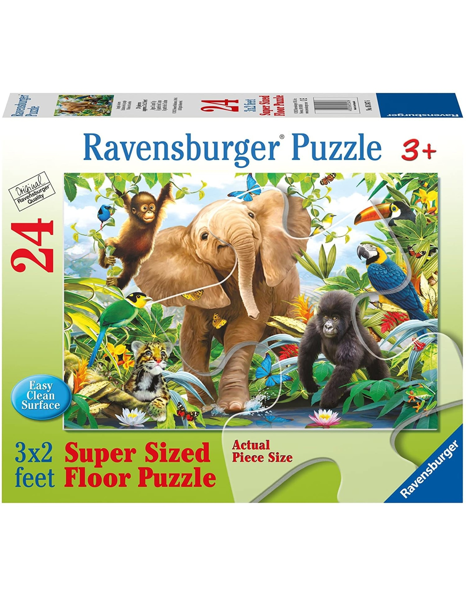 Ravensburger 24 pcs. Jungle Juniors Puzzle