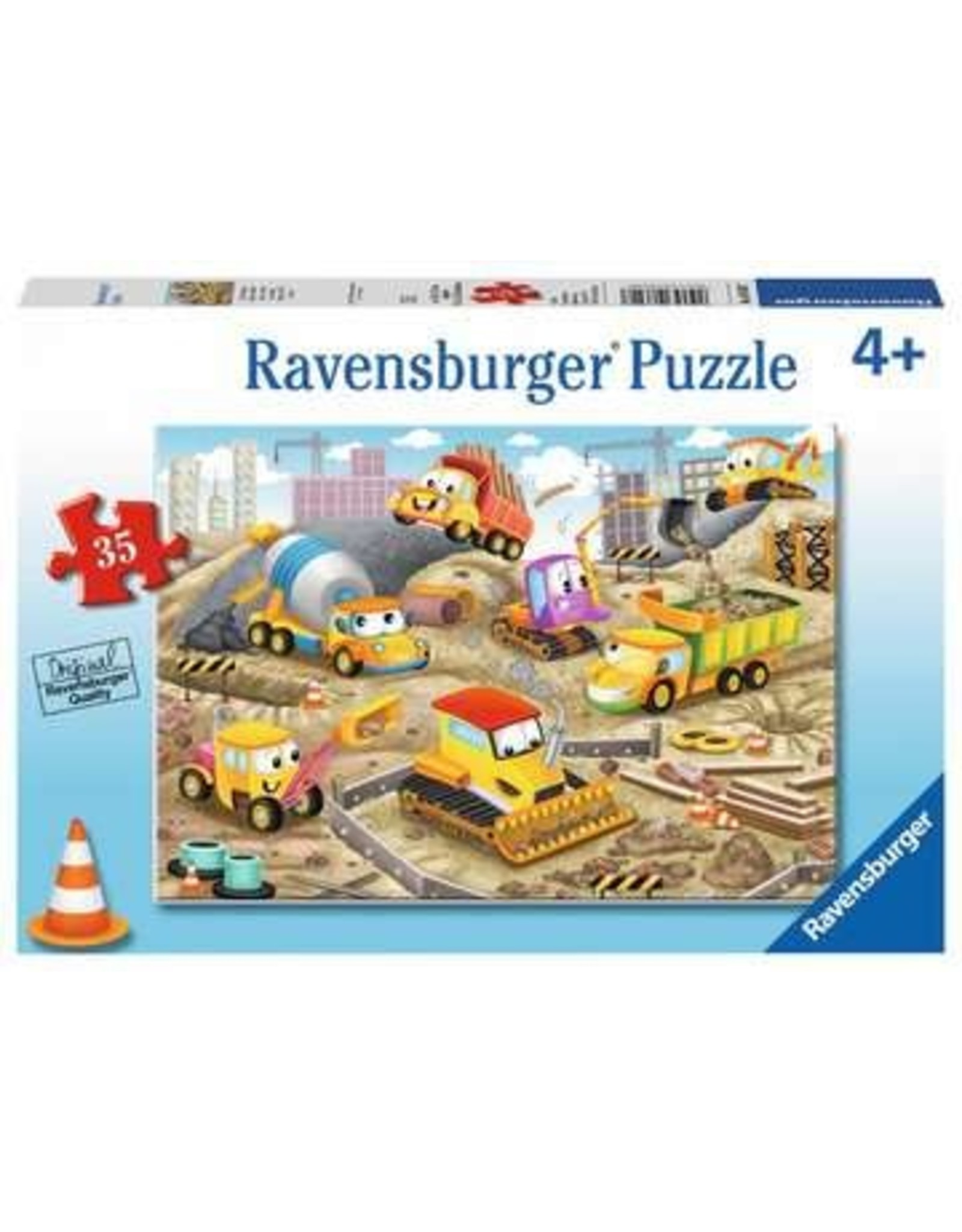 Ravensburger 35 pcs. Raise The Roof Puzzle