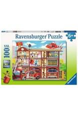 Ravensburger 100 pcs. Firehouse Frenzy Puzzle