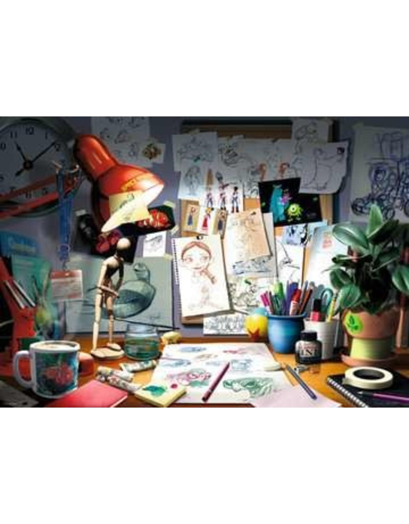 Ravensburger 1000 pcs. The Artist's Desk Puzzle