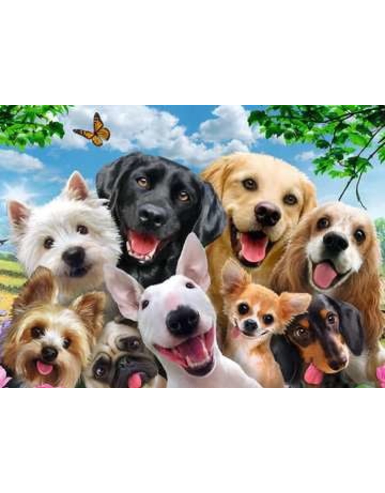 Ravensburger 300 pcs. Delighted Dogs Puzzle