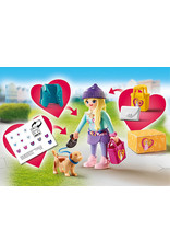 Playmobil Fashionista with Dog