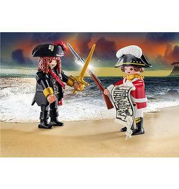 Playmobil DuoPack Pirate and Redcoat