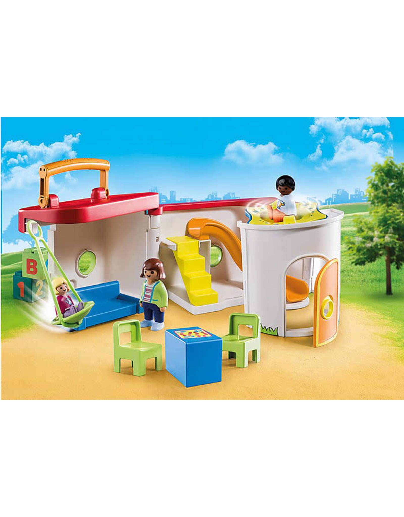 Playmobil 1.2.3 My Take Along Preschool