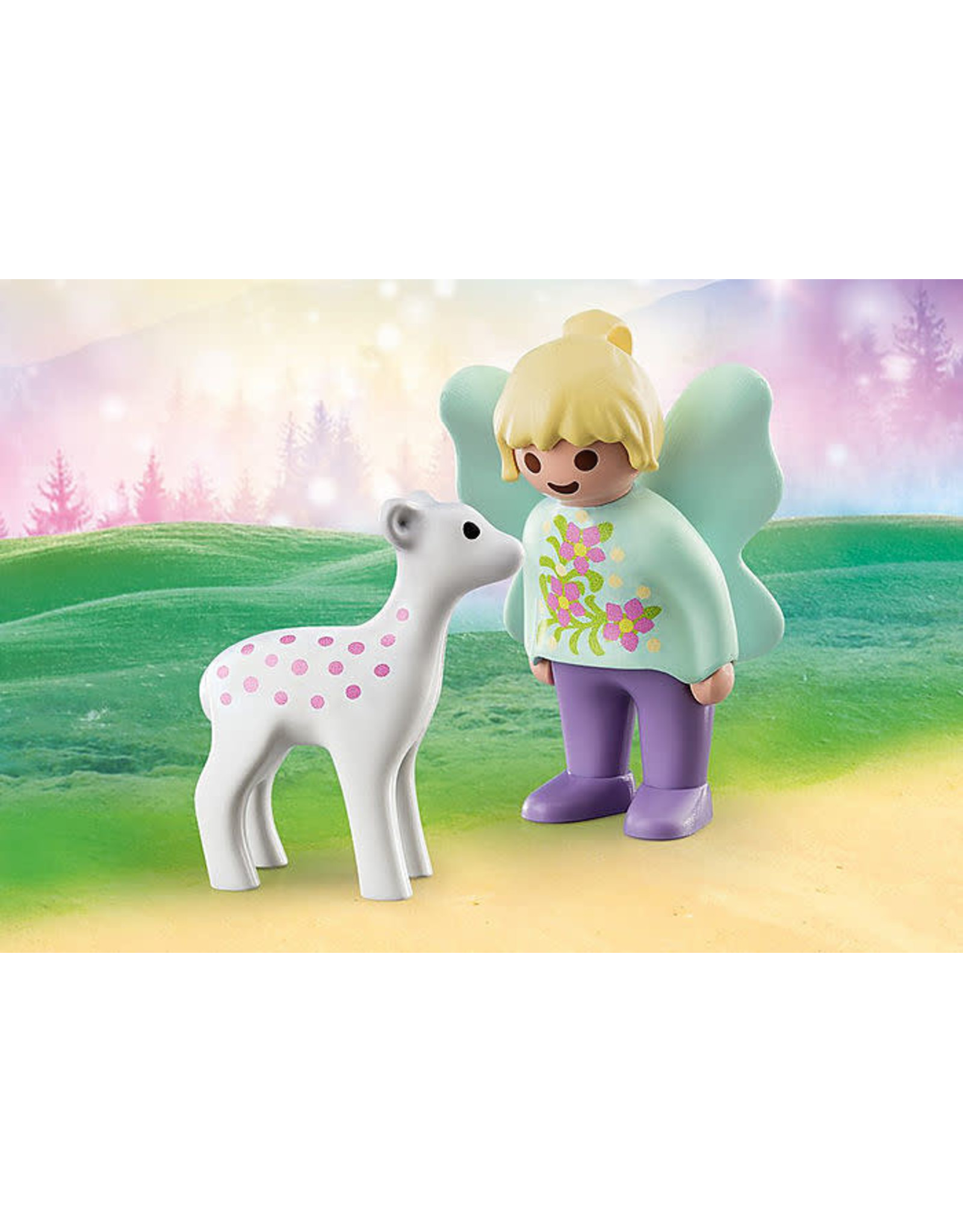 Playmobil 1.2.3 Fairy with Fawn