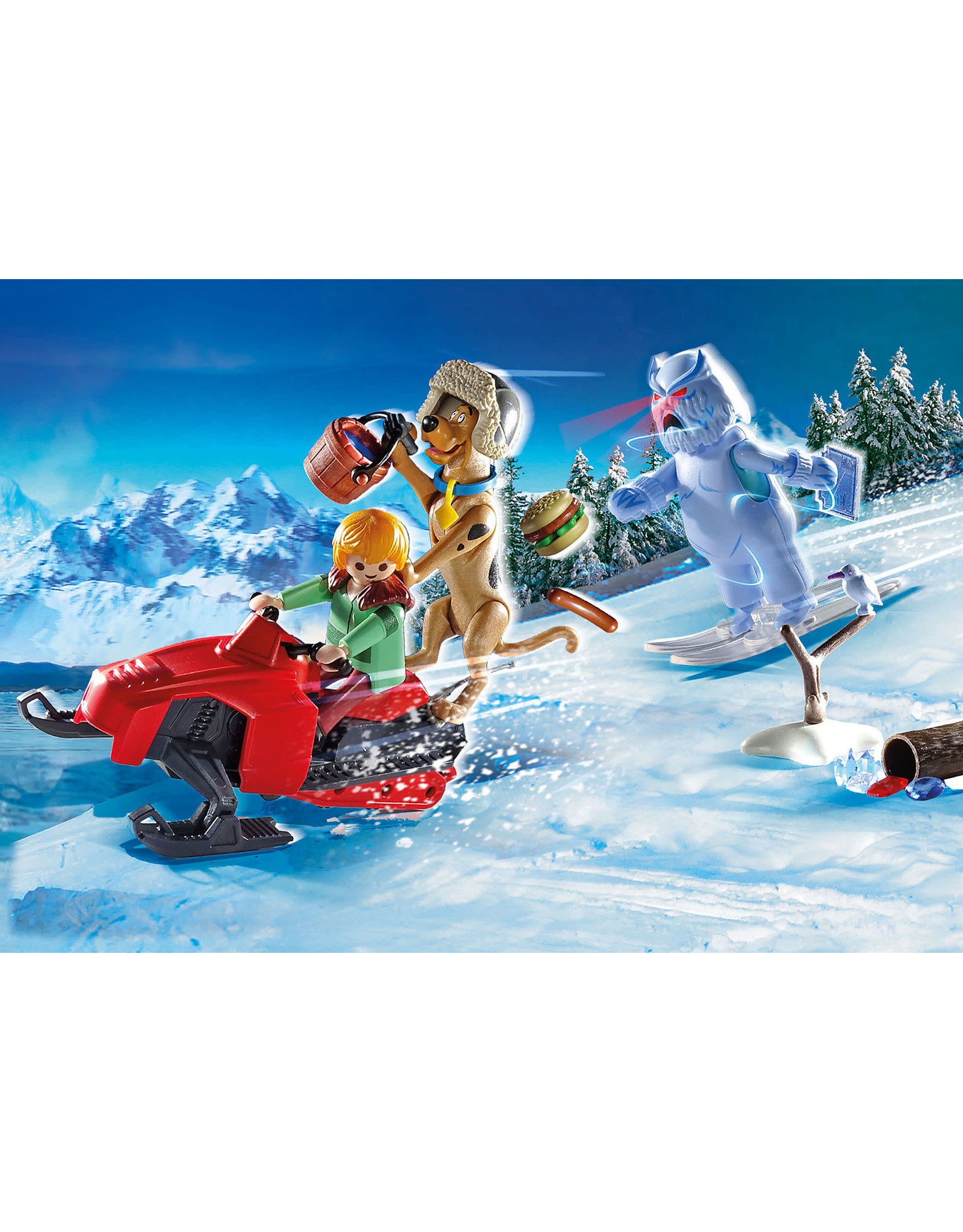 Playmobil Scooby-Doo! Adventure With Snow Ghost
