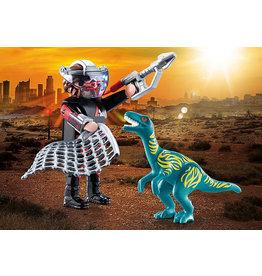 Playmobil DuoPack Velociraptor With Dino Catcher