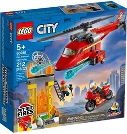 LEGO LEGO City, Fire Rescue Helicopter