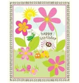 Yellow Bird Paper Greetings Garden Critters Birthday Card