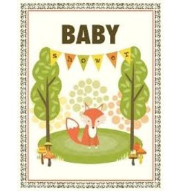 Yellow Bird Paper Greetings Vanagon Animals Baby Card