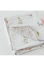Little Unicorn, LLC Cotton Muslin Baby Quilt, Oh Deer!