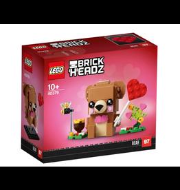 LEGO LEGO Brick Headz, Valentine's Bear