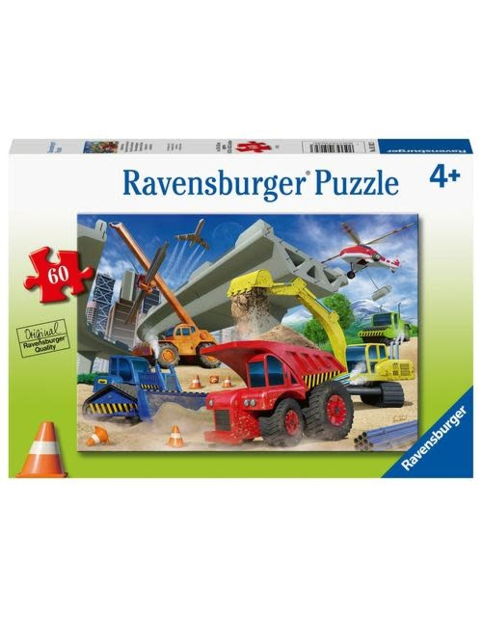 Ravensburger 60 pcs. Construction Vehicle Puzzle
