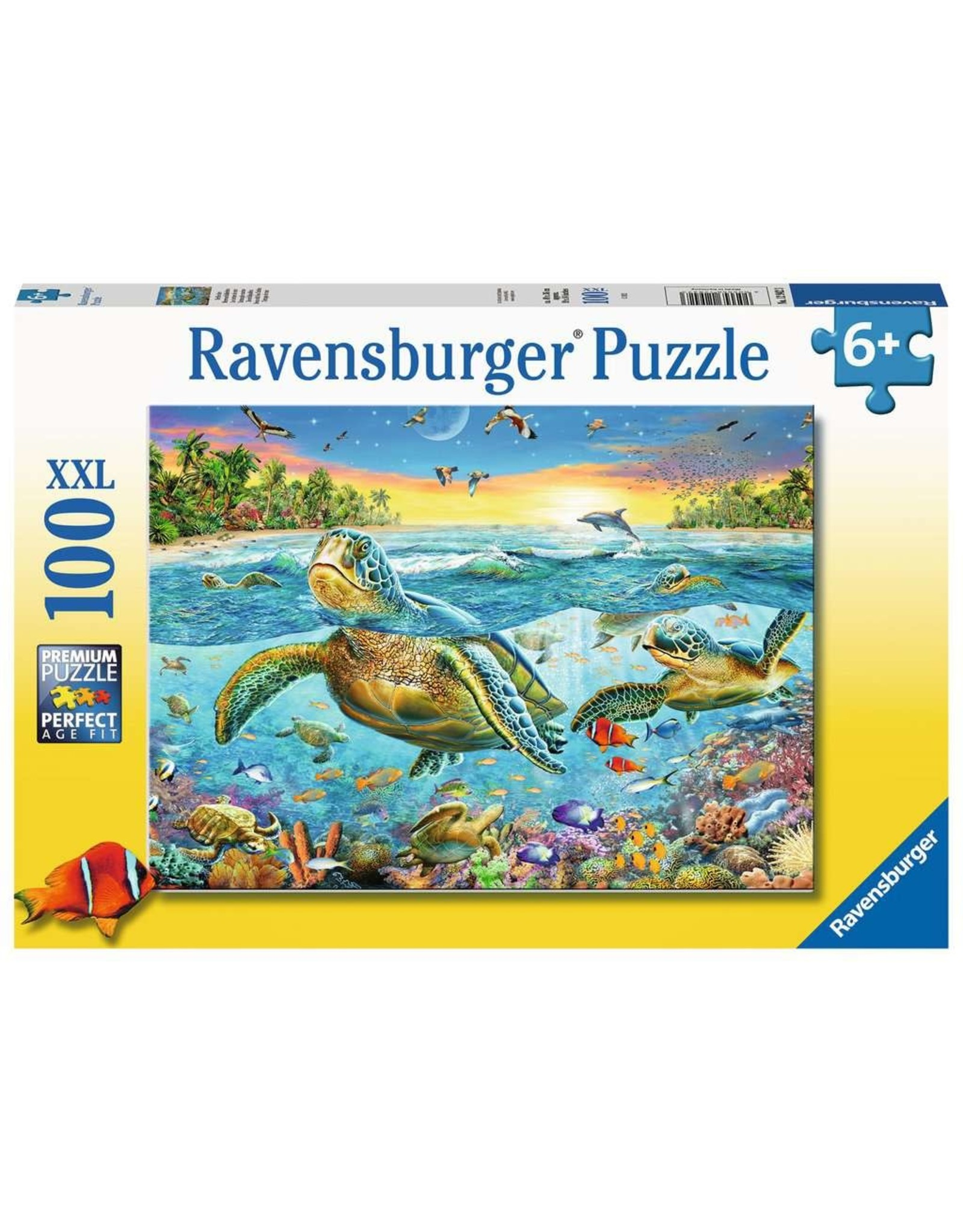 Ravensburger 100 pcs. Swim With Sea Turtles Puzzle