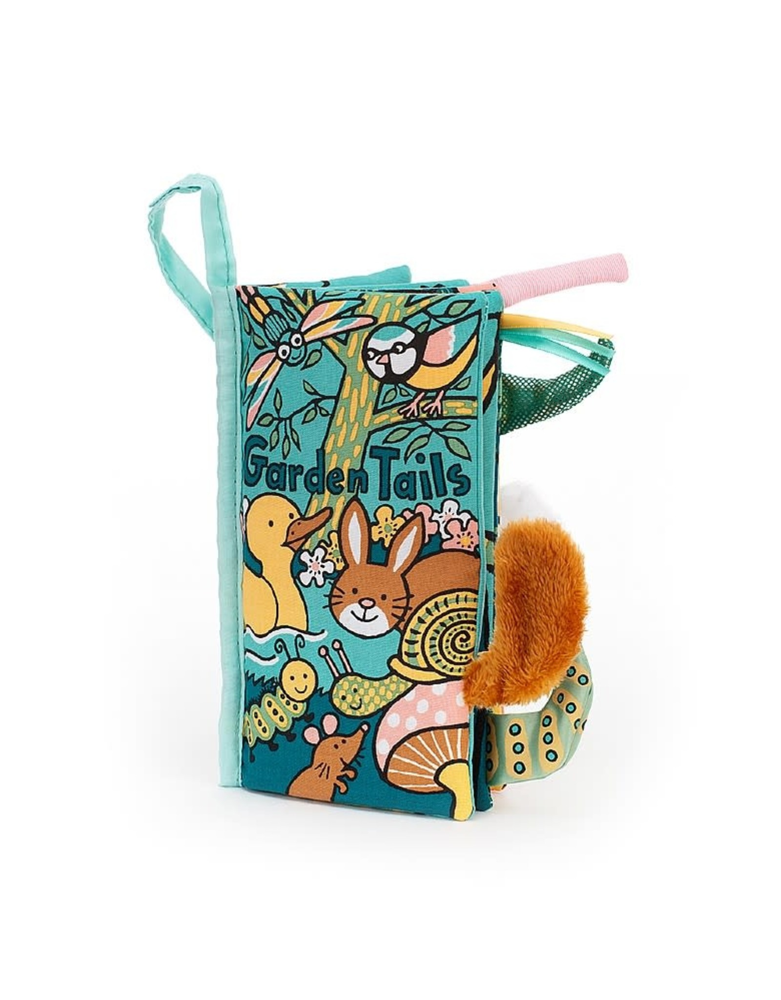 Jelly Cat Garden Tails Book