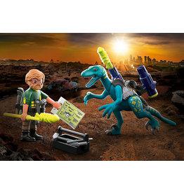 Playmobil Deinonychus: Ready For Battle