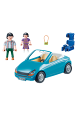 Playmobil Family With Car