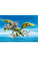 Playmobil Dragon Racing: Ruffnut and Tuffnut with Barf and Belch