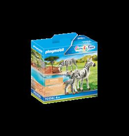 Playmobil Zebras with Foal