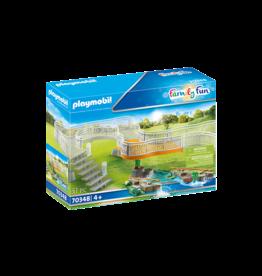 Playmobil Zoo Viewing Platform Extension