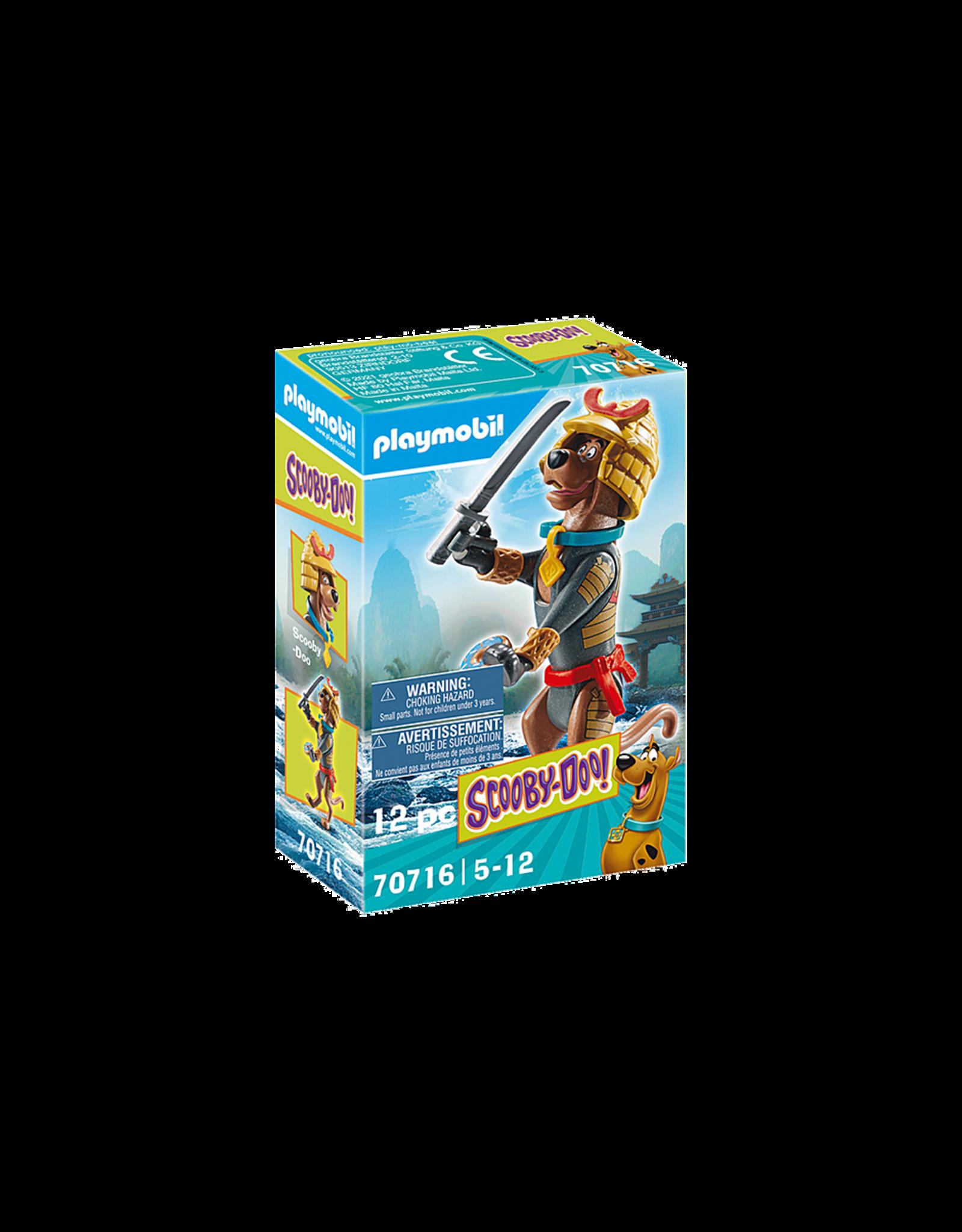 Playmobil Scooby-Doo! Collectible Samurai Figure