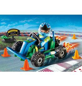 Playmobil Go-Kart Racer Gift Set