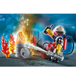 Playmobil Fire Rescue Gift Set