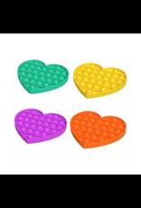 Angellina's Bubble Pop Fidgety Heart, Single Assort.