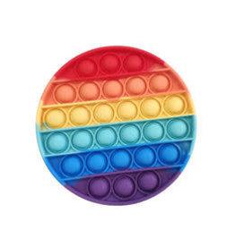Angellina's Bubble Pop Fidgety Round Rainbow, Single