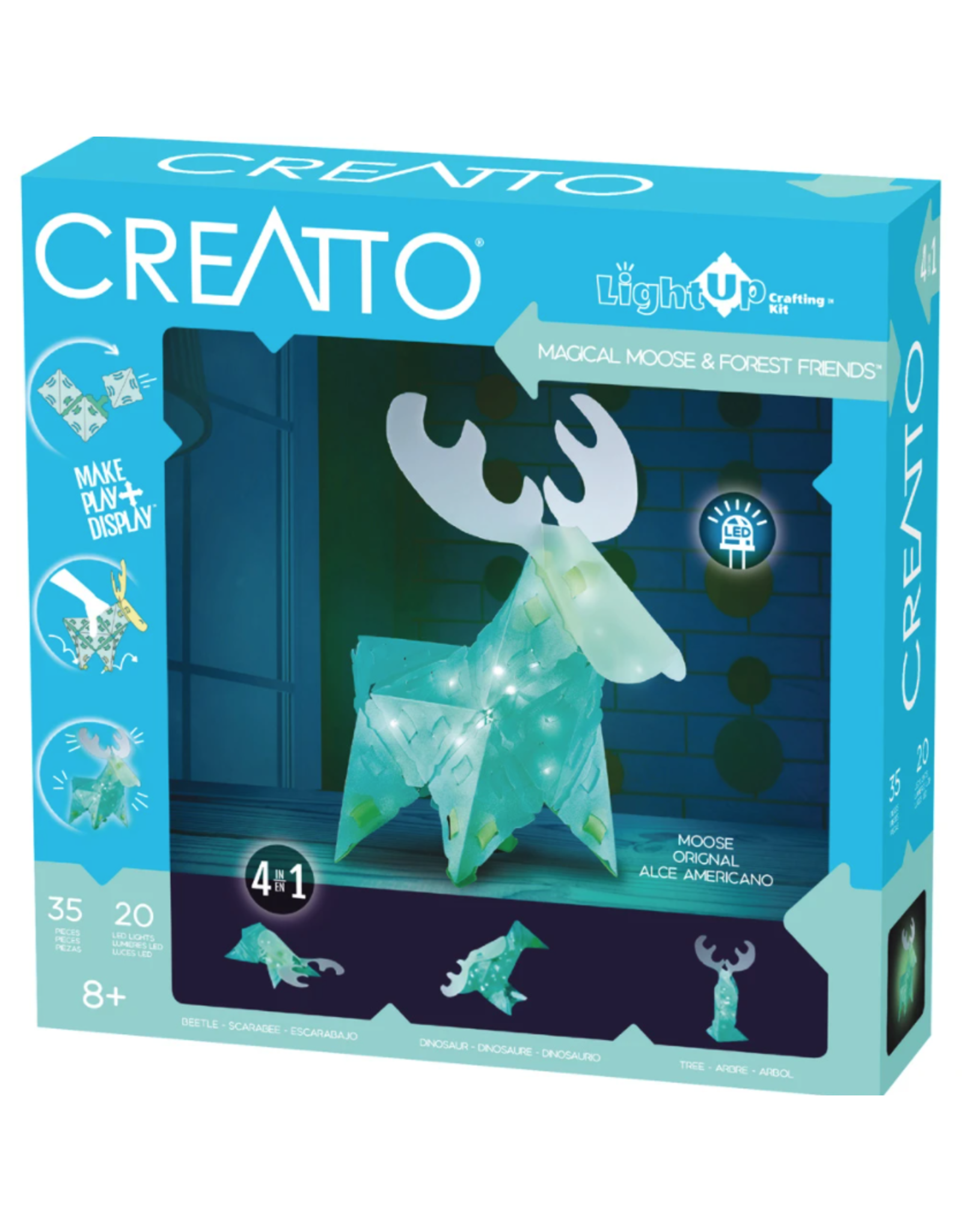 Thames & Kosmos Creatto Magical Moose & Forest Friends